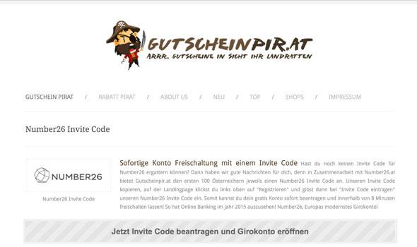 number26-invite-code